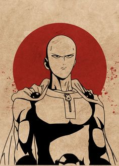 One Punch Man Poster, One Punch Man Manga, Saitama One Punch Man, Anime One, Manga Anime, One Punch Man Wallpapers, Aomine Kuroko, Foto Do Goku, Otaku