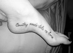 ▷ 1001 + Ideen für Tattoo Sprüche zum Tätowieren the ways in the country lead me home saying these tattoo sayings on the foot Tribal Tattoos, Tattoos Skull, New Tattoos, Body Art Tattoos, Small Tattoos, Tatoos, Saying Tattoos, Texas Tattoos, Redneck Tattoos