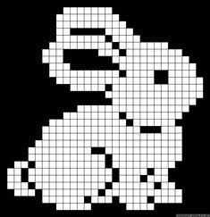 Какие есть схемы вышивки крестиком зайца, пасхального зайца, черно-белые?