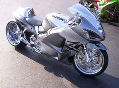 Silver n grey Hayabusa