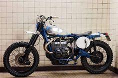 """Ce petit film, réalisé par """"BillyGun"""" dévoile une R75/6 de 1976, préparée par Blitz Motorcycles, passé maître en la matière !"""