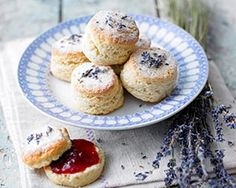 Afternoon tea scones are a quintessential part of British culture. Learn how to make the best scones using some of our favorite tried and tested scone recipe, and how to serve them with a lovely cu… Slow Cooker Desserts, Lavender Recipes, Good Food, Yummy Food, Think Food, Snacks Für Party, Party Recipes, High Tea, Afternoon Tea
