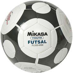 2ecdc60dbd Amazon.com   Mikasa FLL55S-WBK Indoor Soccer Ball