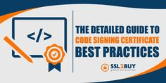 Code Signing Certificate Best Practices Cyber Security Awareness, Best Practice, Certificate, Coding, Programming