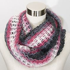 OHJE: Virkattu tuubihuivi Malli, Knitting, Crochet, Macrame, Jewelry, Fashion, Ponchos, Moda, Jewlery
