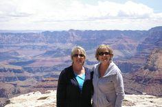 My big sis and me at the Grand Canyon in Arizona!