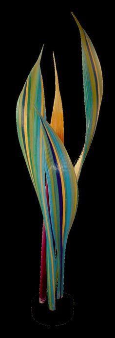 The artwork of David K. Griffin: My New Palm Pod Sculptures