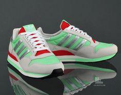 adidas ZX 500 green/met silver