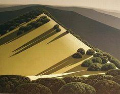 Eyvind Earle American, 1916-2000 Rolling Hills, 1969