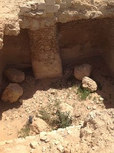 94. Cistern Dug in the Middle of the Fortress of Avdat