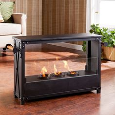 Kirby Indoor/Outdoor Fireplace