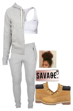 """""""WillThaRapper-Pull Up Hop Out"""" by nasza100 ❤ liked on Polyvore featuring Timberland, Casetify, NIKE and James Perse"""