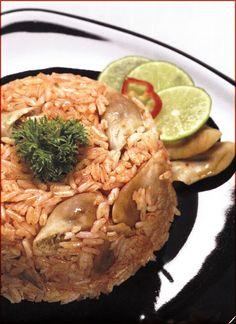 Arroz con machas o almejas (4 porciones) - SAZON PERUANO - Recetas de cocina Peruana e Internacional   Cocina Arequipeña y del Sur