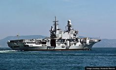 The Italian Cavour aircraft carrier. - Image - Naval Technology