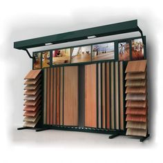 Floor Tile Display Stand