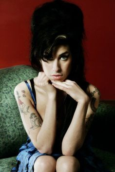 Amy Winehouse  ....She prolly shoulda gone to rehab...yeah, yeah, yeah...... to soon? :P