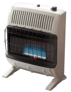 Space Gas Heater 20k BTU Vent Free Blue Flame with Thermostat Control 600 sq. ft #SpaceGasHeater