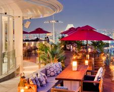 KU DÉ TA spans 40,000 square feet and comprises of three separate yet integrated outlets:  A Restaurant, a club lounge and a poolside terrace