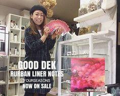 "FOURSEASONS 店内で かかっております♪ 「Good Dek」 Mini Album "" Rurban Liner Note "" ▽ FOURSEASONSにて! お買い求めいただけることに なりましたー 👏🏻👏🏻👏🏻♪ ・ k.makeのアクセサリーが 繋げてくれたmusic! 是非、お店でご視聴し、手にとって見てくださいね😊 ・ 北海道 浜中町より、 エレクトロニカサウンドに 心地いい メロディーとリリック 「次世代ベットルーム・ポップ」 をお届けいたします 是非ご視聴あれ!👍🏻 #gooddek #rurbanlinernotes #nowonsale #fourseasonsjam #fourseasonsitem  #セレクトショップ #dailyusegoods #lifegoods #jamblend #coffeebeams  #☕️ #靴下 #ラグ #bag #靴 #kitchentools #gift #diy #handmade #repairjam #リペアジャム #デニムリペア #ジーンズリペア #リペア #お直し #裾上げ…"