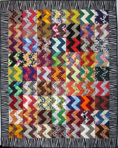 Exuberant Color : Quilts made with triangles