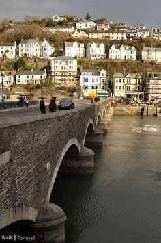 The bridge at Looe, Cornwall ...♥♥...