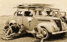 1960s  beach surfing california