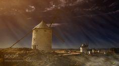 Don Quixotes Windmills by carlos_santero. Please Like http://fb.me/go4photos and Follow @go4fotos Thank You. :-)