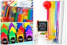 Tema de Festa Artes - Inesquecível Festa Infantil