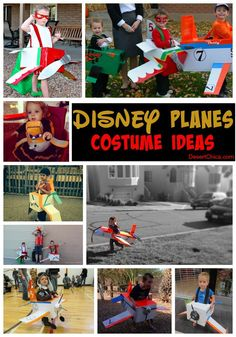 Disney Planes Costume Roundup- Fun ideas for Halloween or a Disney Planes birthday party!