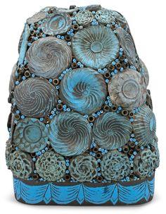 ** Birger Kaipiainen (Finnish 1915-1988), Arabia, Ceramic Sculpture, 1960's. Antique Pottery, Pottery Art, Organic Sculpture, Ceramic Artists, Porcelain Ceramics, Clay Art, Mosaic Glass, Scandinavian Design, Metallica