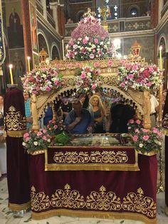 Orthodox Easter, Church Flowers, Orthodox Christianity, Flower Designs, Floral Arrangements, Llamas, Holiday, Greece, History