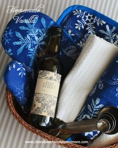 Homemade Vanilla-the perfect gift for the baker in your life