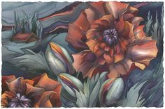 Bergsma Gallery Press :: Paintings :: Floral :: Soul Fire - Prints