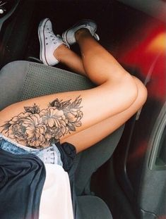 Thigh Floral Flower
