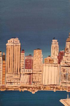 Leopapp. Manhattan da east river, anno 2013