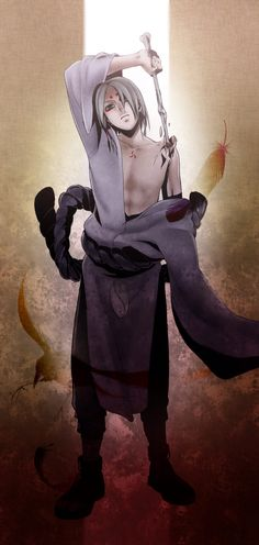 Artist: Arkray | Naruto | Kimimaro ... Almost totally forgot about this guy 0_0
