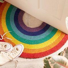 Sunnylife Rainbow Fußmatte - Stuff I Love - Rainbow Rainbow House, Love Rainbow, Rainbow Colors, Rainbow Things, Rainbow Kids Rooms, Rainbow Stuff, Rainbow Nursery, Rainbow Shop, Rainbow Nails