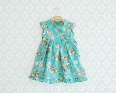 Smaragd Kimono Kleid für kleine Mädchen Party Kleid von Melimebaby, $50.00