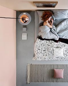 Bedroom inspiration by Susanna Vento - Nordic Design Bedroom Retreat, Home Decor Bedroom, Modern Bedroom, Bedroom Ideas, Copper And Grey, Design Your Home, House Design, Loft, Bedroom Styles