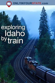This Dreamy Train-Themed Trip Through Idaho Will Take You On The Ride Of A Lifetime - Travel Vacation Places, Vacation Spots, Places To Travel, Travel Destinations, Greece Vacation, Travel Stuff, Dream Vacations, Vacation Trips, Vacation Ideas