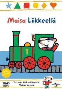 Maisa Liikkeellä -dvd:llä lähdemme Maisan, Keken, Tellun, Artun ja Nipan mukaan junamatkalle, veneretkelle, autoajelulle ja lentokoneeseen! Tervetuloa mukaan.