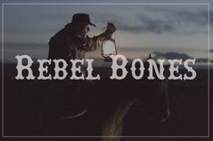 if you need a rebel - bad to the bone font, this will work . author - hugo ivan gonzalez cruz for this great font. Best Free Fonts, Great Fonts, Fancy Fonts, Holiday Fonts, Commercial Fonts, Silhouette Cameo Projects, Silhouette Fonts, Bad To The Bone, Scene Creator