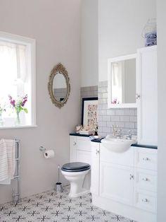 Baños con estilo | Llagostera Gris | Serie 1900 | Vives Azulejos y Gres #tiles…