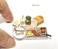 miniaturefood miniature food ミニチュアフード ミニチュアサンドイッチ