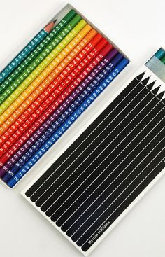 Another brilliant calendar created by Mytton Williams Design. The calendar consists of 12 pencils, one for each month and color coded to indicate the temperature. Days of the week are sharpened off. Simply, creative and useful. I loveit.