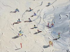 Check out 'The Summit – Ski Slopes' by Sally West at KAB Gallery Online Gallery, Art Gallery, Sally West, Local Art Galleries, Painting Snow, Beautiful Paintings, Special Events, Photo Art, Skiing