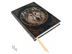 The Wild One embossed Journal by Anne Stokes