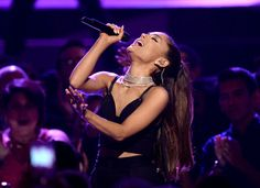 """Ariana Grande tripped on stage at the Billboard Music Awards""--Read more at: http://www.examiner.com/article/ariana-grande-tripped-on-stage-at-the-billboard-music-awards"