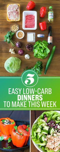 All the meals are low-carb and high-protein, and there's a grocery list that goes along with it! Get the full plan here.