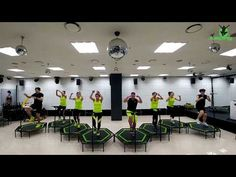 I'm A Drum Machine - Jumping® Fitness - YouTube